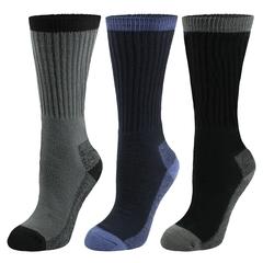 Socks-60% acry./23% poly./10% nylon-pairs (3)