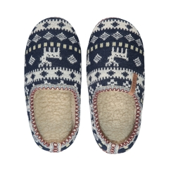 Slippers-Acrylic knit-Poly.