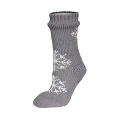 Slippers socks-Acrylic knit-Poly.