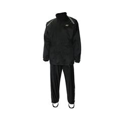Suit-Nylon/PVC-Reflect. stripe-Sealed-Leg zip