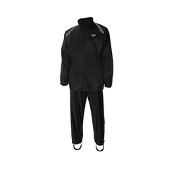 Suit-Nylon/PVC-Reflect. stripe-Sealed-Leg zip