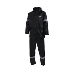 Suit-Nylon/PVC-Reflect. stripes-Sealed-Leg zip