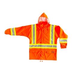 Jacket-100% PU-Reflect.stripe