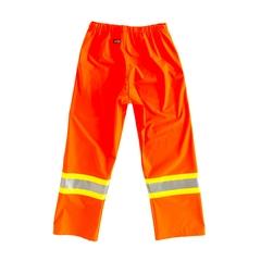 Pantalon à la taille-100% PU-Bande réfléch.
