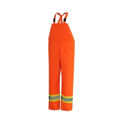 Rainsuit Pants-150D Oxford/PU-Quilted nyl.-Heatlocker-3M str
