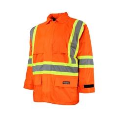 Rainsuit Jacket-220d Nylon/PVC-Sealed-CSA