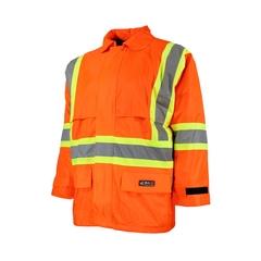 Rainsuit Jacket-420d Nylon/PVC-Sealed-CSA