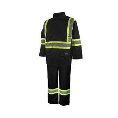 Suit-End.600d/PU-Sealed-Detach.hood vision-Reflect. stripes