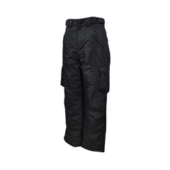 Waist pants-Nylon/PU-Sealed-Leg zip