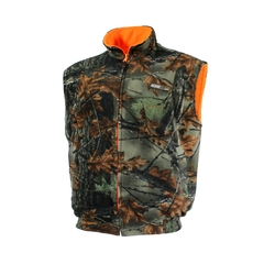 Reversible vest-Fleece-Fleece