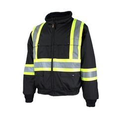 Bomber jacket-End.600d-Reflect.stripe-CSA