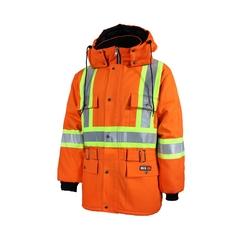 Jacket-For Welders - Cotton 100%-Reflect.stripe-CSA--40 °C /