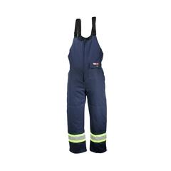 Bib pants-For Welders - Cotton 100%-Reflect.stripe-CSA--40 °