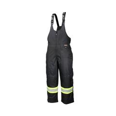 Pantalon salopette-End.600d-Bande réfléch.-CSA