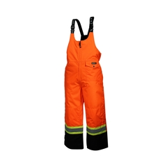 Bib pants-End.600d-Nyl./fleece-Heatlocker-Sealed-Reflect.str
