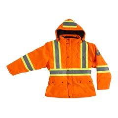 Jacket-End.600d/PU-Boa-Reflect. stripes