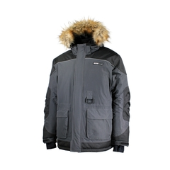 Expedition Jacket-Tussor 100% Nylon-Fake fur-Multi-Function