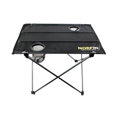 Table de camping-Nylon-Aluminium-Porte-gobelet