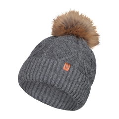 Tuque-10%Alpaga/20%Wool/70%Acryl.-Fur