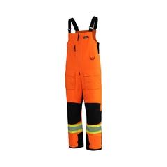 Bib pants-Tussor 100% Nylon-Heatlocker-Reflect.stripe-Leg Ex