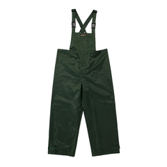 Bib pants-420d Nylon/PVC-Nylon-Sealed