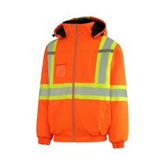 Bomber jacket-100% Poly.-Poly.-Heatlocker-Reflect.stripe