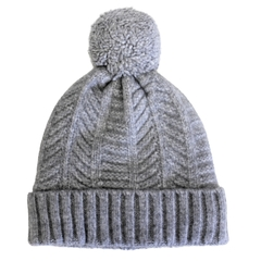 Tuque-55%Acry.45%Nylon-Pompom-Plush