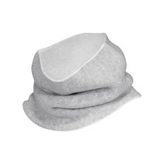 Intfinity scarf-55%Acry.40%Nylon5%Wool-Reversible