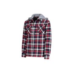 Shirt-Flan.-Quilted nyl.-Detach.hood