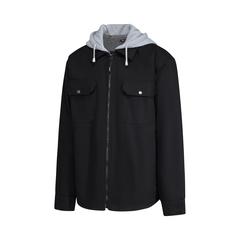 Shirt jacket-100% Cotton-Boa liner-Heatlocker-Hood