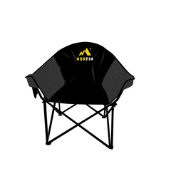Foldable chair-100% Poly.-Steel frame-Storage bag