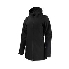 Long jacket-Polyester/Spandex-Flan.